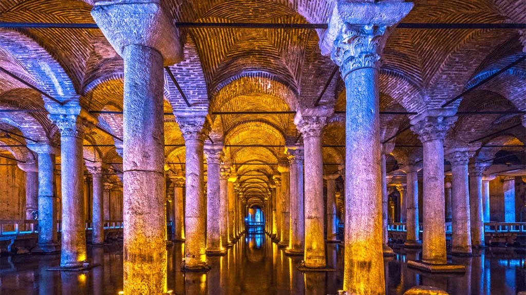 Beauty of Istanbul - Cisterns