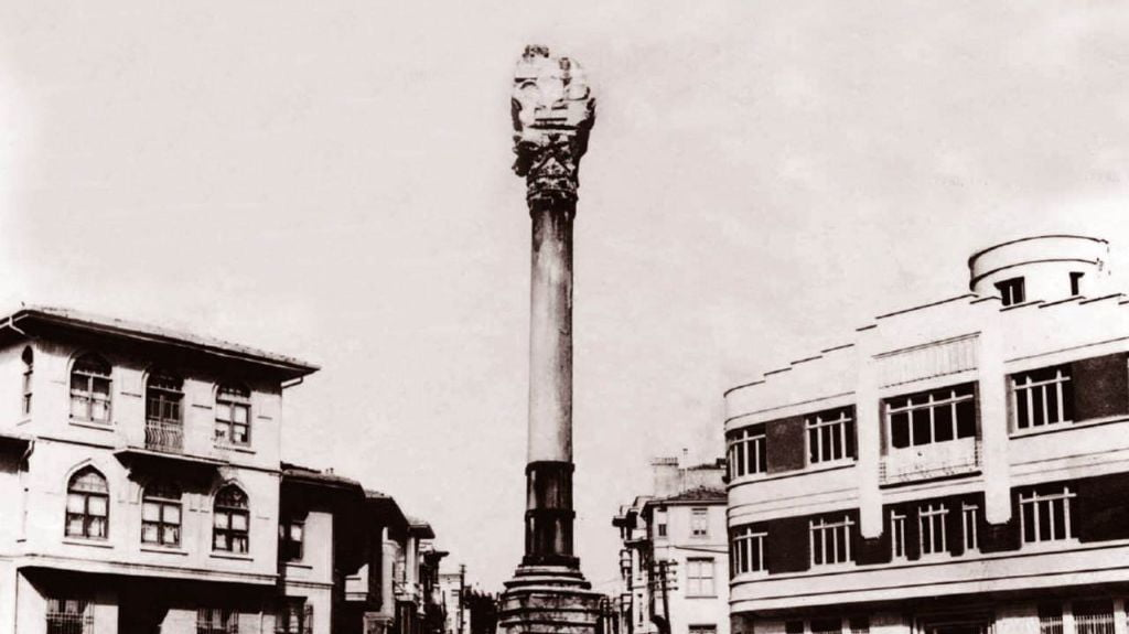 Column of Marcian - Top monuments in Istanbul