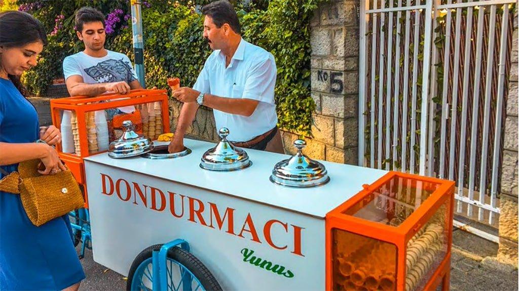 Yunus Usta Ice Cream Buyukada Istanbul