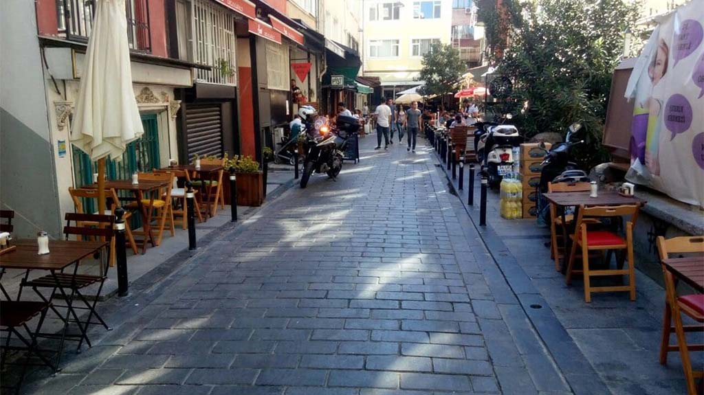 Besiktas Breakfast Street
