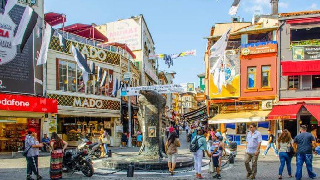 Besiktas - Shopping in Istanbul