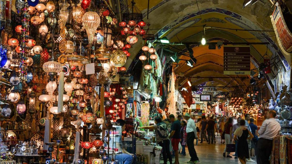 Grand Bazaar - 5 Days in Istanbul