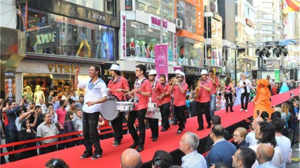 Laleli Shopping festival in Istanbul