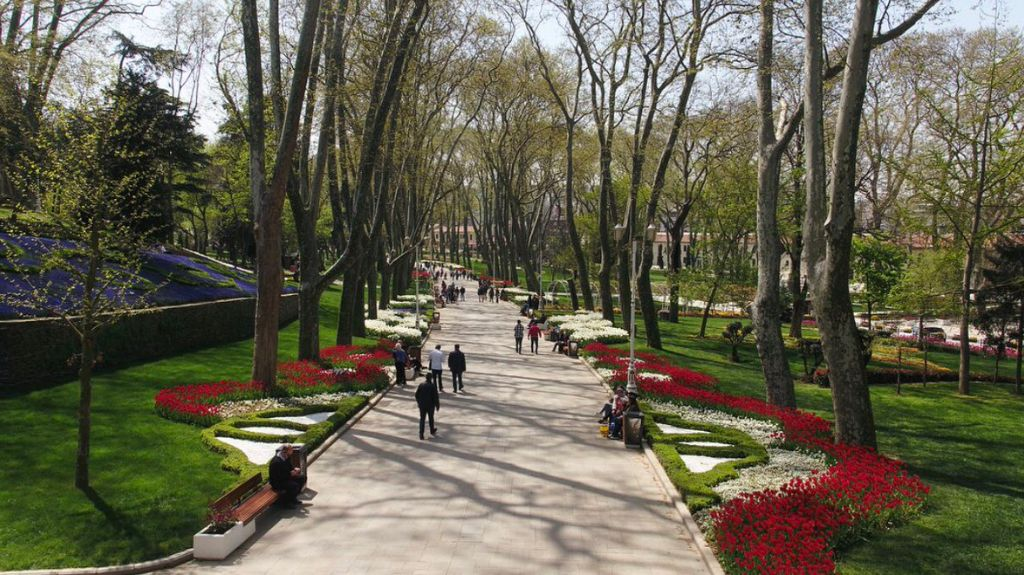 rest-in-the-gulhane-park